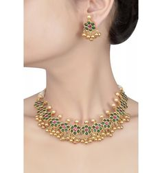 Jewellery Avenue at Gold Jewelry Set For Baby Girl case Malabar Gold Jewellery Necklace Designs out Grt Jewellery Gold Necklace Designs Images like Jewellery Places Near Me India Jewelry, Jewelry Sets, Jewelery, Jewelry Necklaces, Gold Jewelry, Gold Bangles, Bohemian Jewelry, Amrapali Jewellery, Pearl Necklace Set
