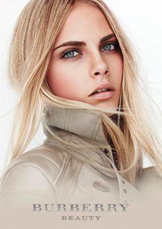 Cara Delevingne for Burberry Beauty _