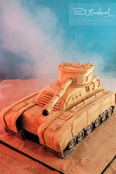 The Tank Cake Course - Learn to make it now! #sugarcraft #cakedecorating
