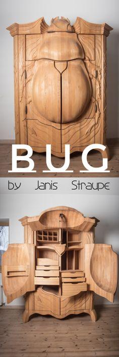 TRUE LATVIA. Latvian designer Janis Straupe. BUG. Read more on http://truelatvia.lv/en/true-latvia-blog