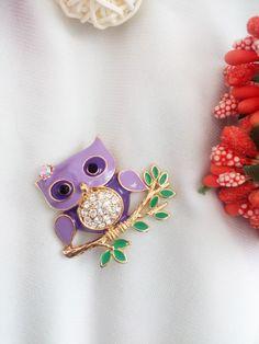 Брошь совушка Brooch, Jewelry, Fashion, Moda, Jewlery, Jewerly, Fashion Styles, Brooches, Schmuck