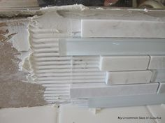 how to install a glass tile backsplash - Glass Tile Backsplash In Bathroom