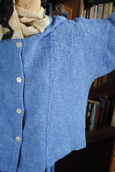 hand woven indigo dyed by deljardin, via Flickr grace lovelace