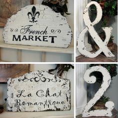VIntage French style--love it