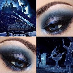 We're so in awe of this @bowsandcurtseys ' stunning smokey eye using #sugarpill x #edwardscissorhands eyeshadow palette which returns this Black Friday 11/27! by sugarpill