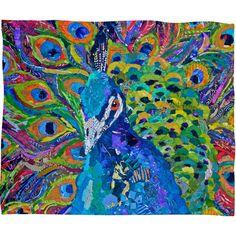 DENY Diseños Elizabeth St Hilaire Nelson cacofonía de color banda Manta