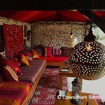 Courtyard and Gardens - Upwaltham Barns