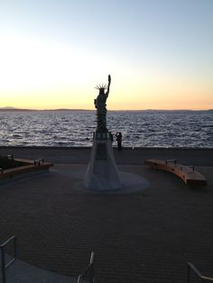 Liberty in Alki Beach Seattle WA