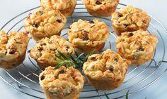 Parmesan-Muffins mit Rosmarin