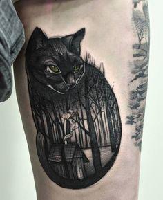 Cool Cat Tattoo