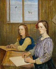 James CowieIn the Classroom 1922
