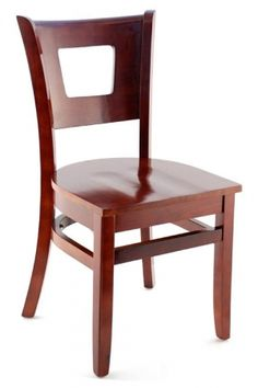 Premium Chicago Series Wood Chair - Made in the USA