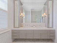 Bathroom closet modern vanities 67 ideas for 2019 Zen Bathroom, Bathroom Closet, Bathroom Renos, Bathroom Furniture, Modern Bathroom, Small Bathroom, Master Bathroom, Bathroom Cabinets, Modern Furniture