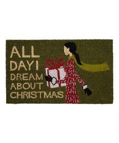 Christmas Dream Doormat on #zulily
