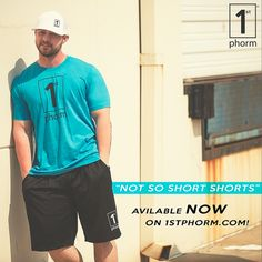 """These puppies have an 11"""" inseam for that perfect comfort fit and room to train in! These breathable mesh shorts are made of 100% polyester 70 denier pro mesh with a tricot liner. They come complete with 2 pockets, one for your car keys and one for your phone. They are screened with he 1st Phorm Logo, and Never Settle on the back of the bottom leg. Double hemmed to last through any workout you can possibly throw at them! #1stphorm #legionofboom #neversettle #fitness #gym #apparel #shorts"""