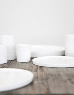 tableware with braille