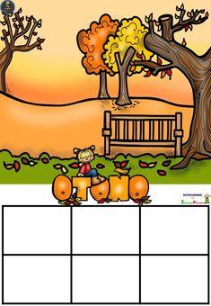 Materiales didácticos estaciones del año - Imagenes Educativas Halloween Painting, Bowser, Homeschool, Clip Art, Classroom, Teacher, Learning, Drawings, Pictures