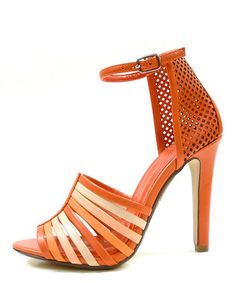 Loving this Coral Emmie Ankle-Strap Sandal on #zulily! #zulilyfinds