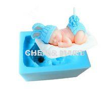 Nuovo arrivo 1 pz bambini giorno a pelo biancheria da letto del capretto del coniglietto del bambino del silicone fondente della muffa della muffa della torta cupcake decorazione(China (Mainland))