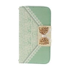 Small Fresh Florals and Bow Pattern Full Body Leather Case with Stand for Samsung Galaxy S3 I9300 – USD $ 11.99