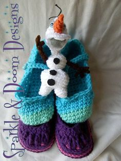 "My first review!! ★★★★★ ""Everything was great! The slippers and doll are high quality, the order shipped quickly, and Anita is great to work with."" charlotte c. https://etsy.me/2DRrqjq #etsy #crochet #clothing #slippers #saskatchewan #canada #frozen"
