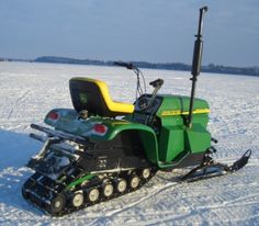 John Deere Snowmobile??