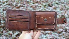 Купить Кожаный кошелек в интернет магазине на Ярмарке Мастеров
