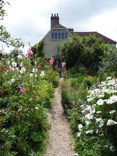 The garden at Charleston, Sussex.