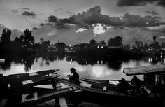In pictures: Raghu Rai's five-decade career captures the essence of India Prayer at Dal Lake, Srinagar (1995).