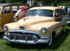 1952 Buick Woody Estate Wagon