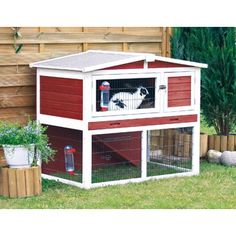 Cute Bunny hutch. Could be added to to make bigger. Too small.