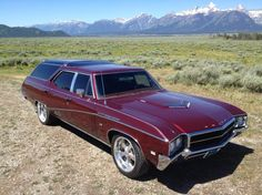 Station Wagons For Sale, Station Wagon Cars, Buick Wagon, Classic Cars Usa, Vista Cruiser, Astro Van, Cool Old Cars, Sports Wagon, Buick Skylark
