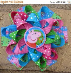 Image result for peppa pig bow