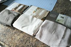 Thrifty Decor Chick: DIY tufted headboard tutorial. Don't like the style for me, but has some steps that I want to do...muslin