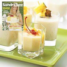 Peach-Mango Smoothie from the Sandra Lee Magazine