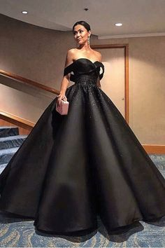 8d013ec1cfb 2019 A Line Off The Shoulder Prom Dresses Satin With Beading Floor Length US   239.99