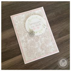 Stampin' Up! - Einladungskarte - Bellas Stempelwelt - Zartrosa, perfekter Tag, Something Lacy