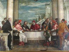 #mostraveronese #aspettandoveronese Convito di San Gregorio Magno per il santuario di Monte Berico a Vicenza, dell'ordine dei Servi di Maria (1572 in situ).