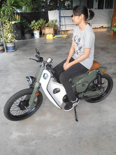 Honda cub bitches
