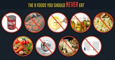 Here are nine staple foods that are heavily promoted as being healthy, but are actually more harmful than beneficial. http://articles.mercola.com/sites/articles/archive/2013/06/10/9-unhealthy-foods.aspx