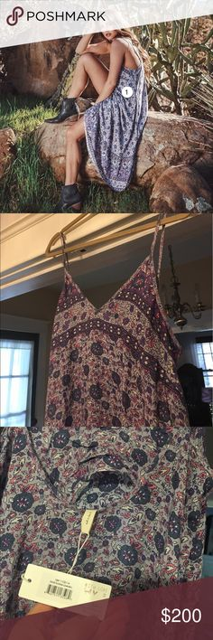 Spell and the Gypsy Kombi sundress lavender NWT L Brand new purchase directly from Spell website myself. I wish this fit but it's just a little too big for me 😢 price is firm. Markup for posh fees Spell & The Gypsy Collective Dresses Midi
