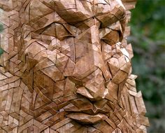 Tessellated Origami Masks by Joel Cooper | Inspiration Grid | Design Inspiration