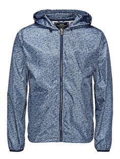 CORE by JACK & JONES - Leichte Jacke von CORE - Regular fit - Kein Innenfutter - Feste Kapuze mit verstellbaren Kordelzügen - Durchgehender Reißverschluss - Eingrifftaschen - Verstellbare Kordeln im Saum - Elastische Bündchen 100% Polyester...