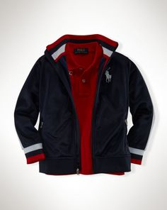 Active Tricot Full-Zip Jacket - Boys 2-7 Outerwear & Jackets - RalphLauren.com