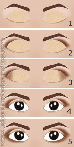 10 secrets and techniques de maquillage pour agrandir des yeux trop petits - Beauty Tips For Skin, Beauty Make Up, Beauty And The Beast, Beauty Hacks, Hair Beauty, Make Up Tutorial Contouring, Makeup Tips, Hair Makeup, Glossy Makeup