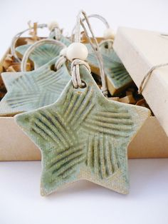 Star Ornaments by PapaPots, via Flickr
