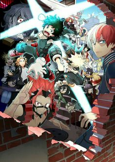 My Hero Academia characters, cool; My Hero Academia