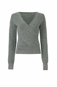 MARKS /& SPENCER PER UNA Deep V Neck Sweater Ribbed Knit FItted Pullover RRP £25