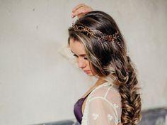 Pettine nuziale dei capelli, pettine da sposa, gioielli di nozze, ghirlanda per capelli
