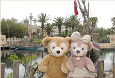 http://www.tokyodisneyresort.co.jp/tds/duffy/photopoint/index.html #Duffy #DisneyBear #DuffyTheDisneyBear